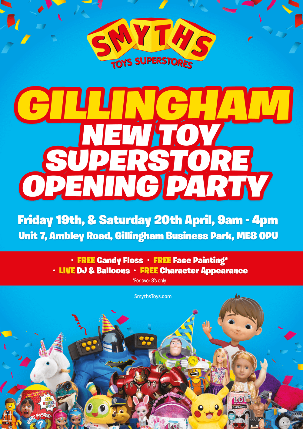Win 50 To Spend In The Smyths Toys Superstore In Gillingham