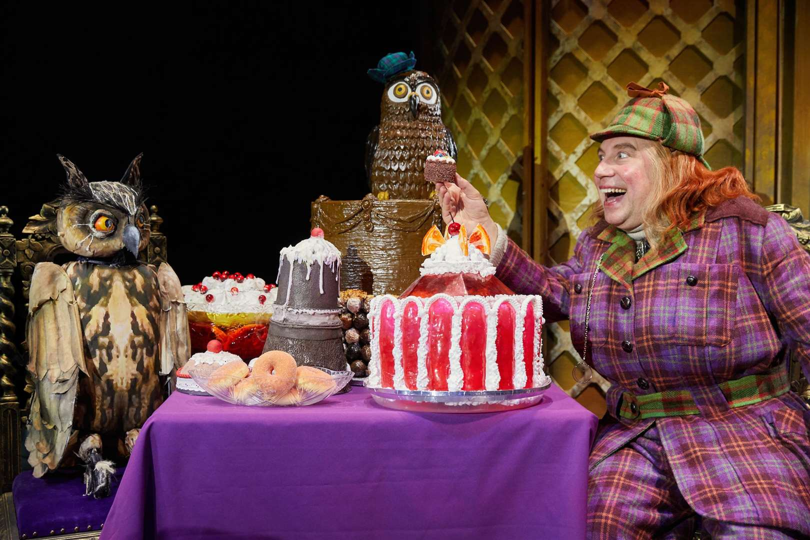 Awful Auntie by David Walliams is on stage