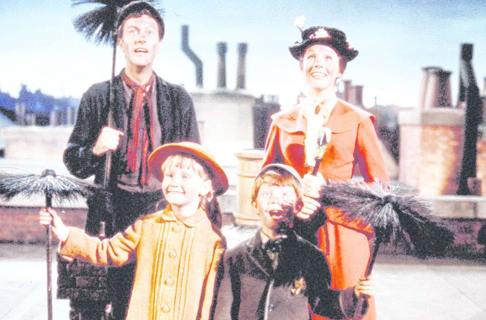 Catch the original Mary Poppins film on BBC One on Christmas Eve