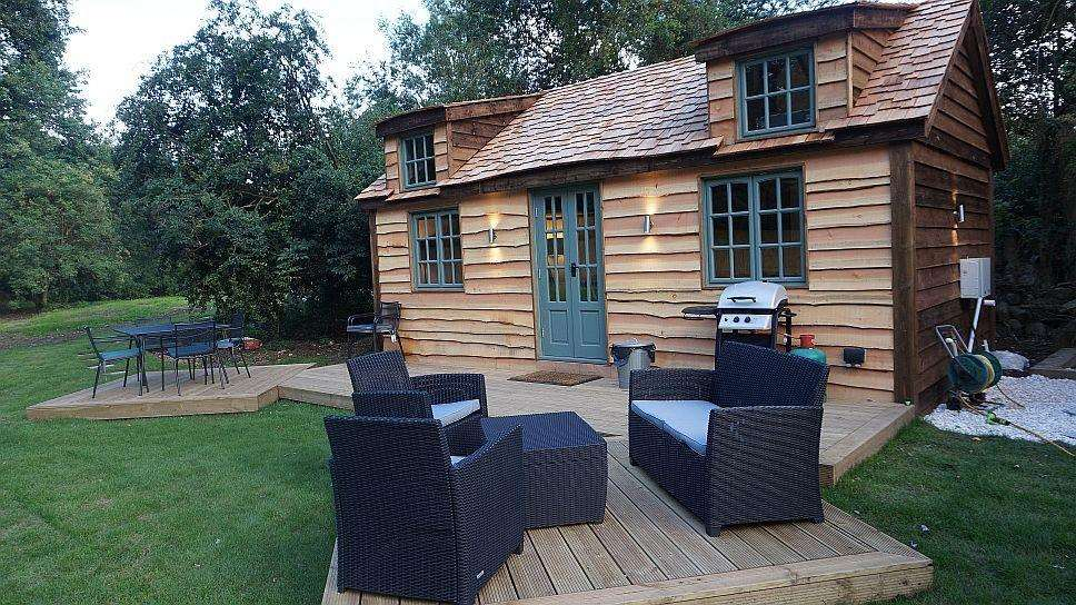 Fancy staying in a secret location? This Secret Cottage is in Westerham.