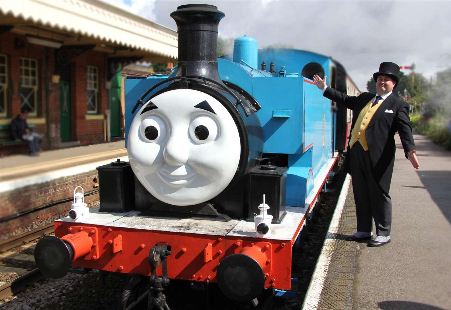 Take a train with Thomas and friends