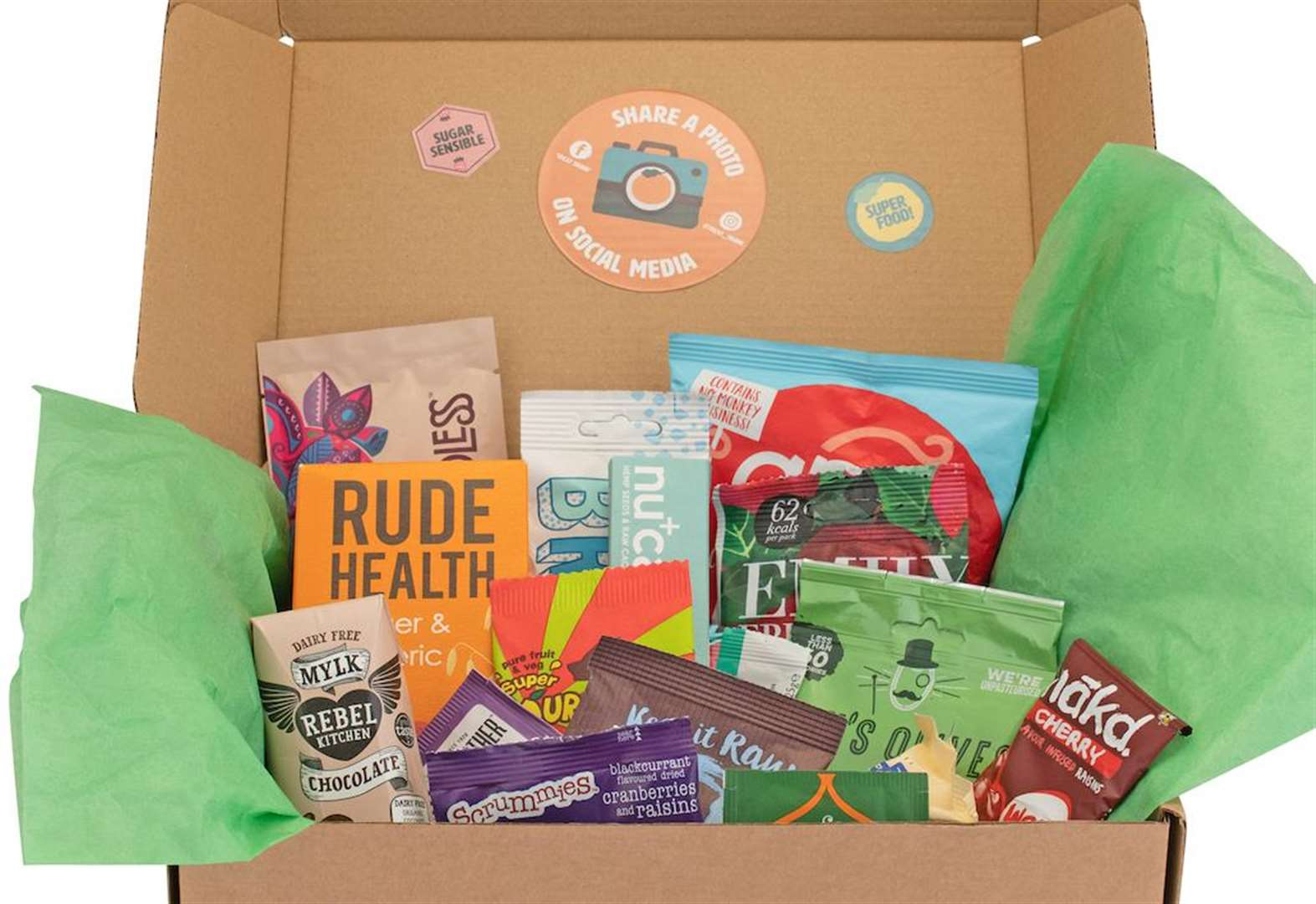 Healthy snack subscription boxes launch