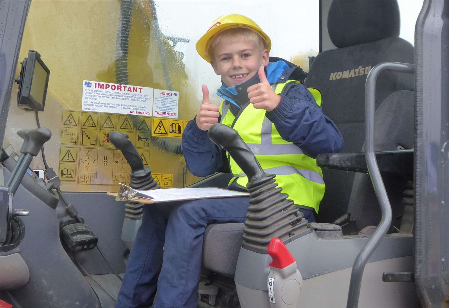 Do you know a child mad about diggers?