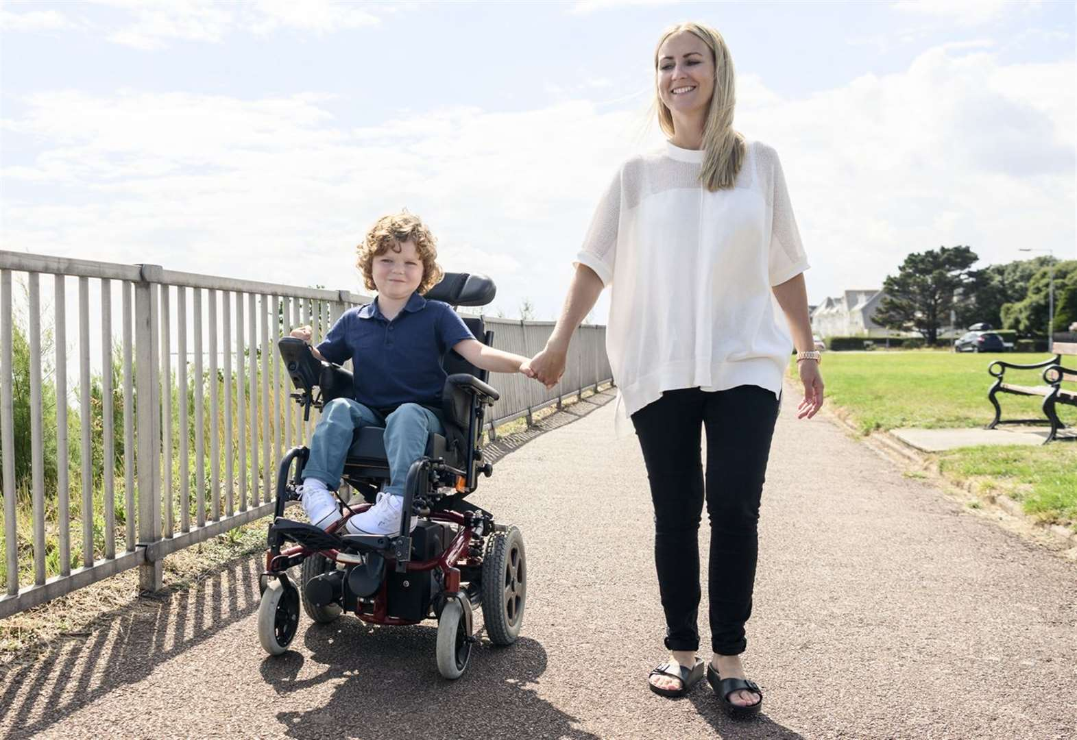 Holiday help for disabled youngsters