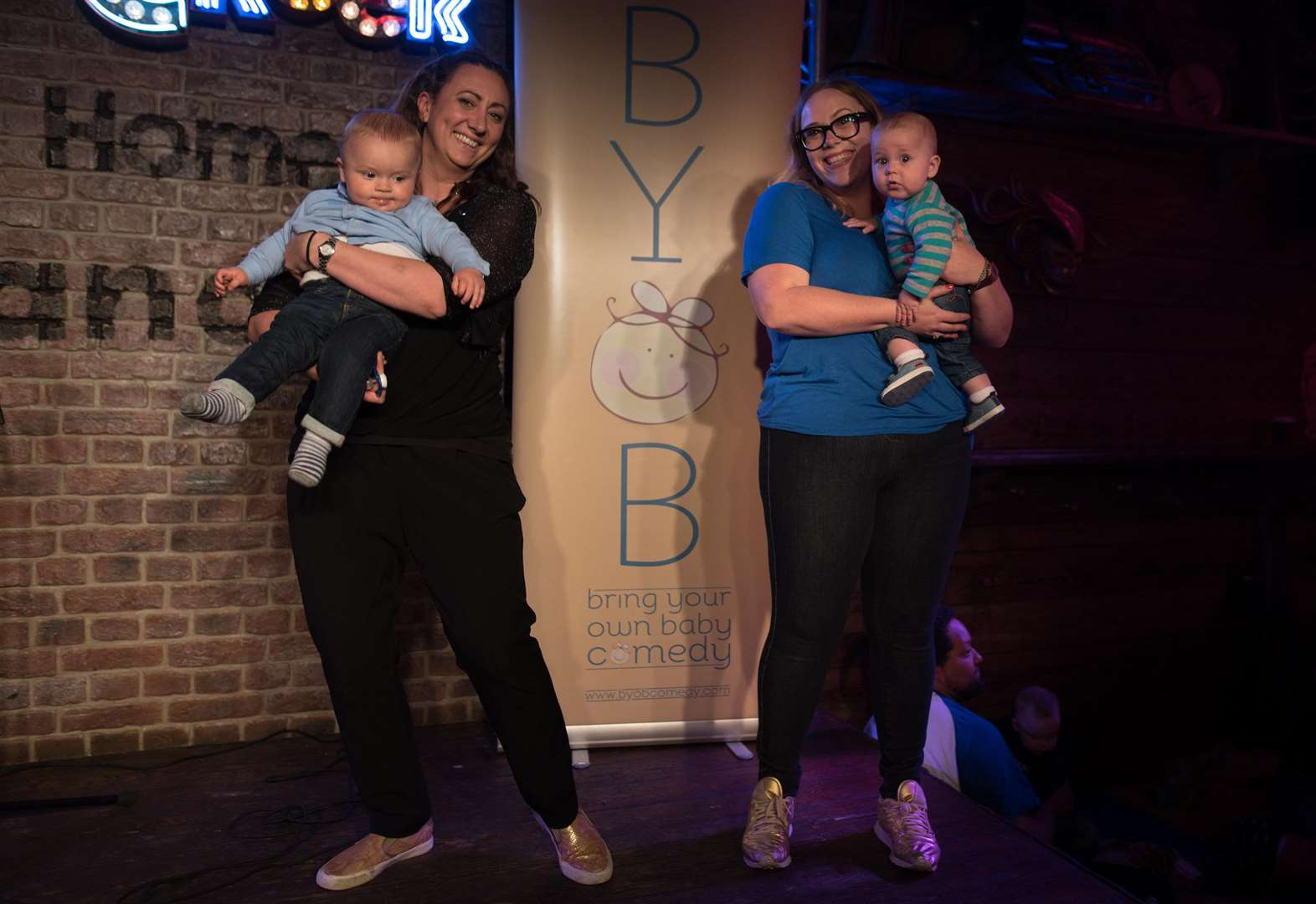 An afternoon of top comedy - and you can take your baby