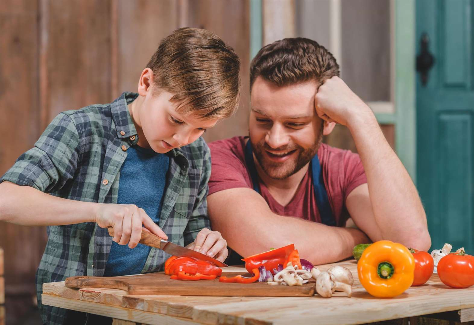 Basic cooking skills: how many do your kids know?