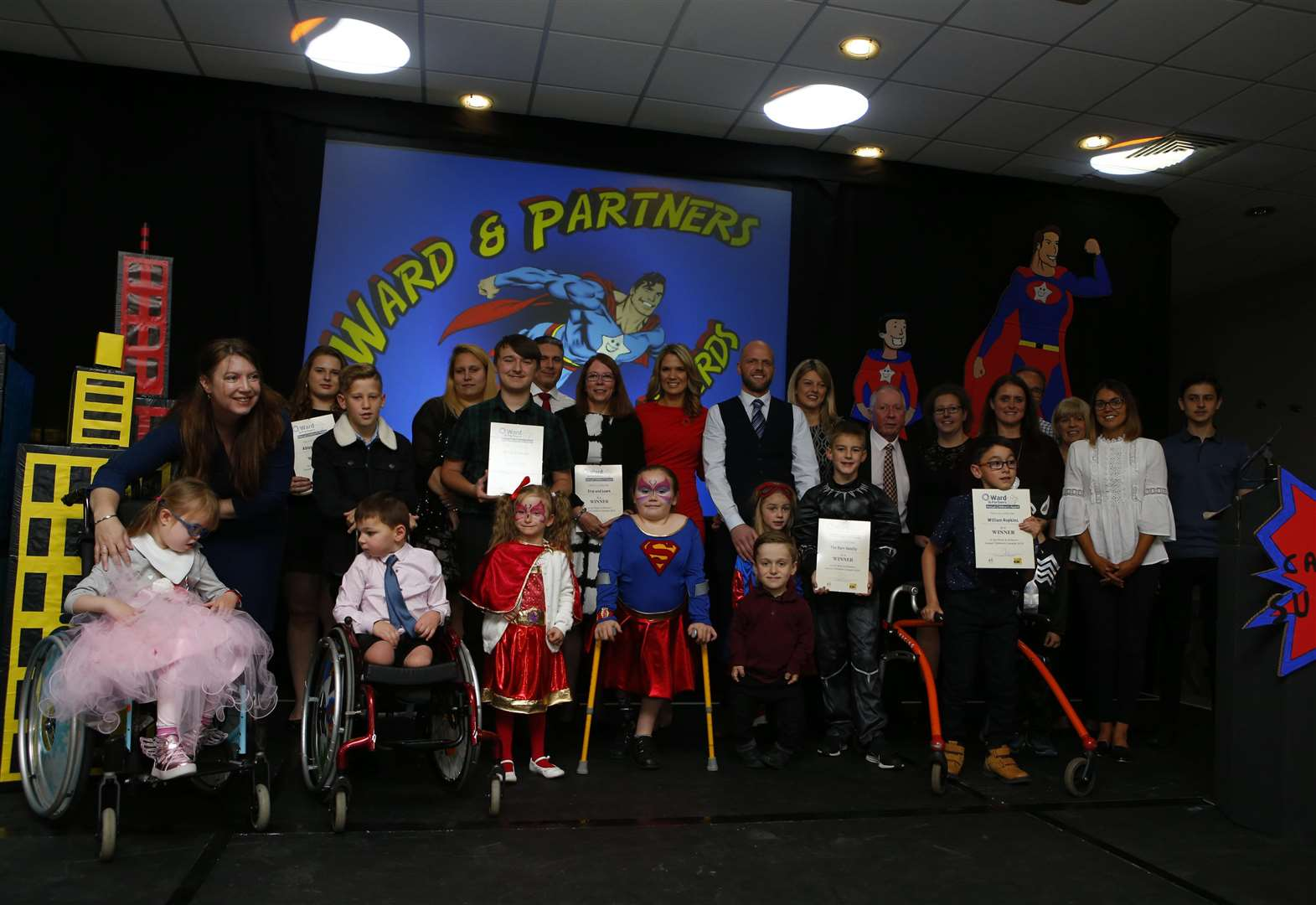The amazing winners of this year's Ward and Partners Children's Awards