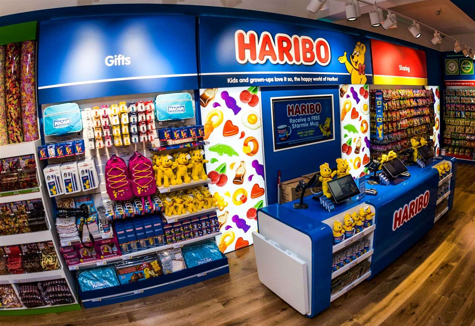 Good new kids! Haribo sweet shop to open in Kent