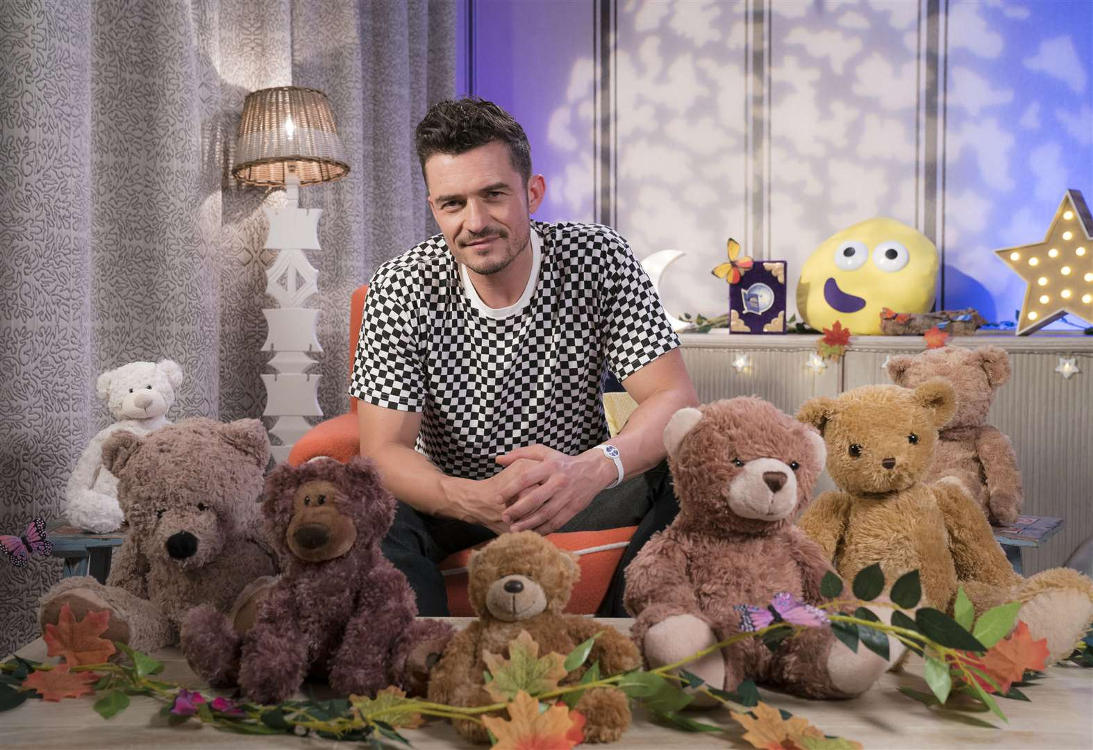Orlando Bloom reads Cbeebies story this Friday