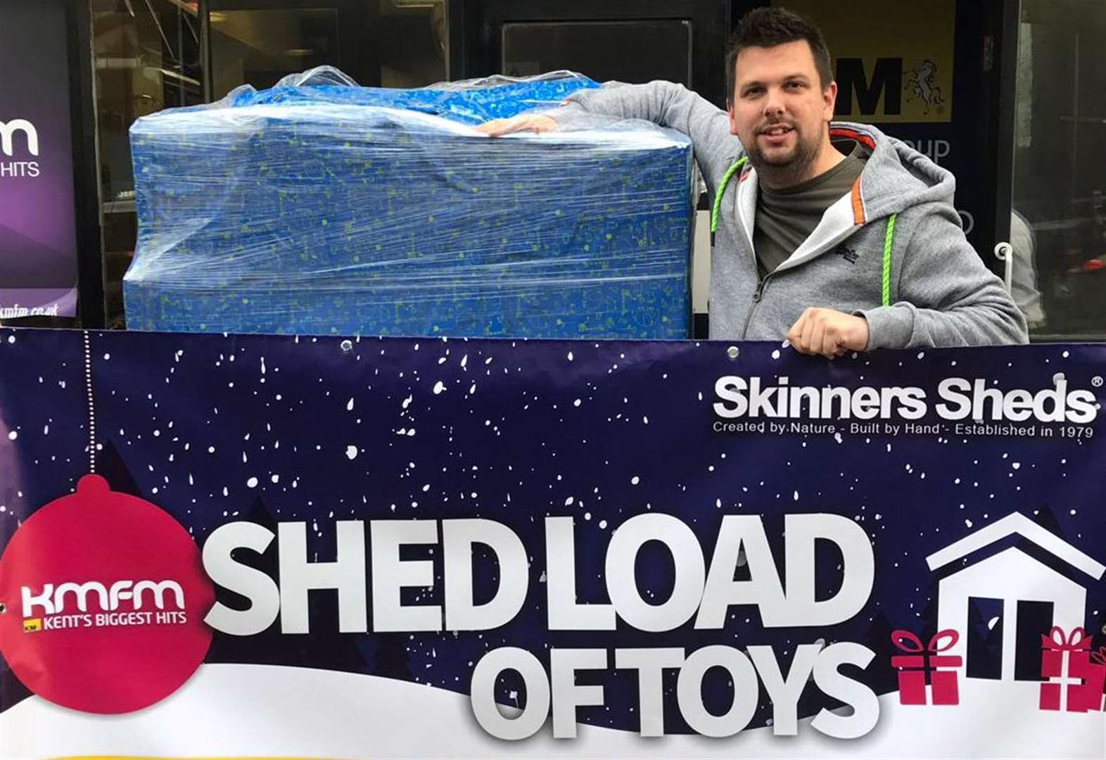 Entire pallet of toys donated to appeal