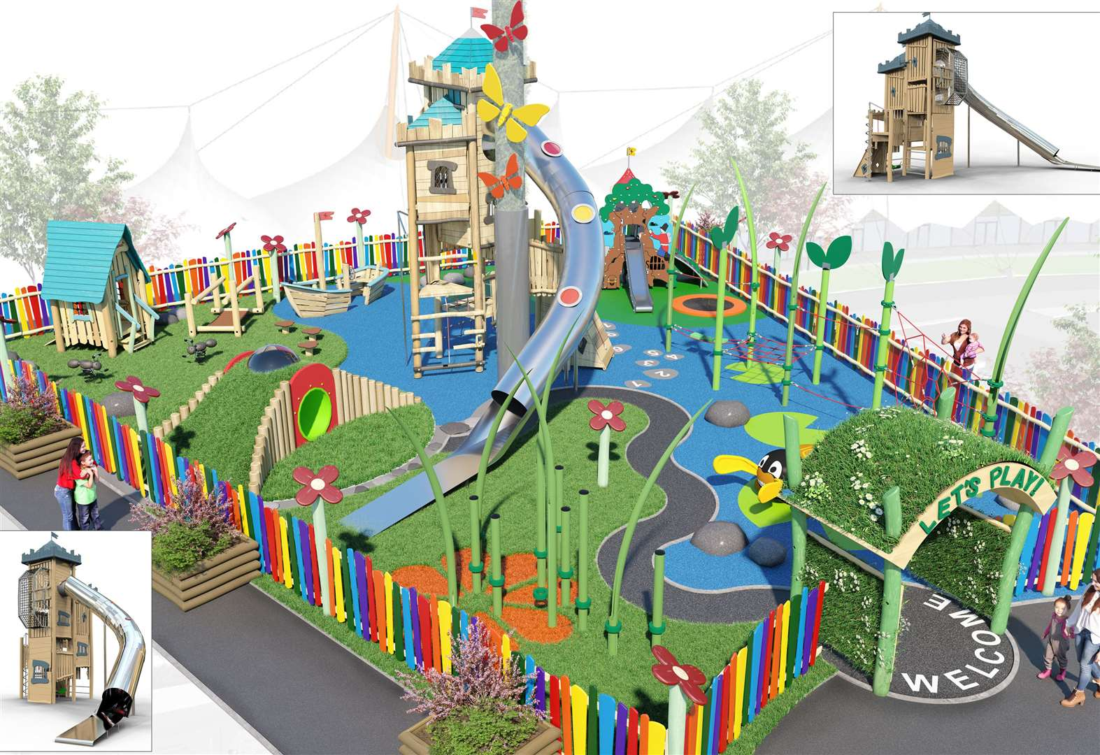 Treehouse play area to open in May