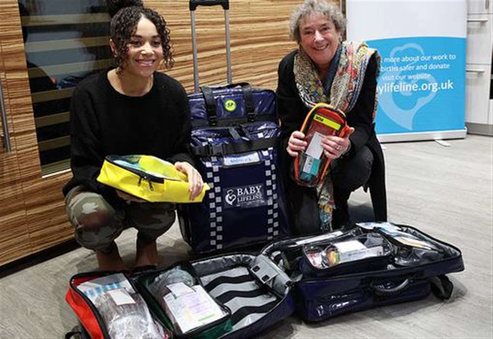 Kent midwives to trial Call the Midwife-style kit bags