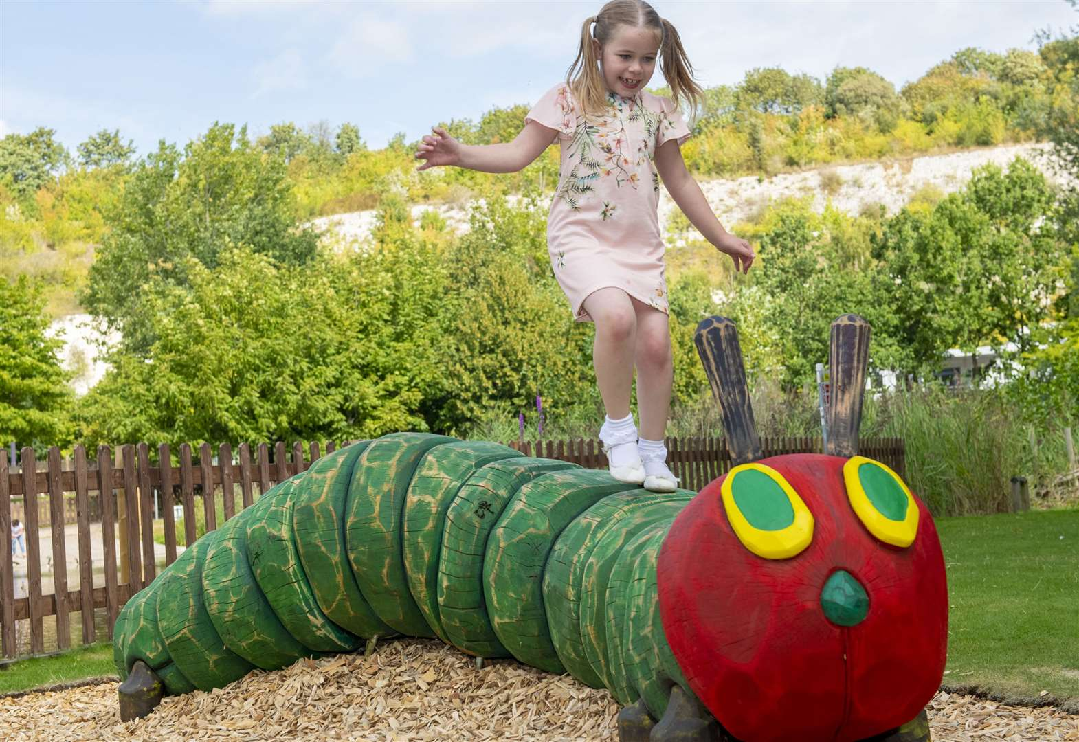 Hungry Caterpillar arrives at nature trail
