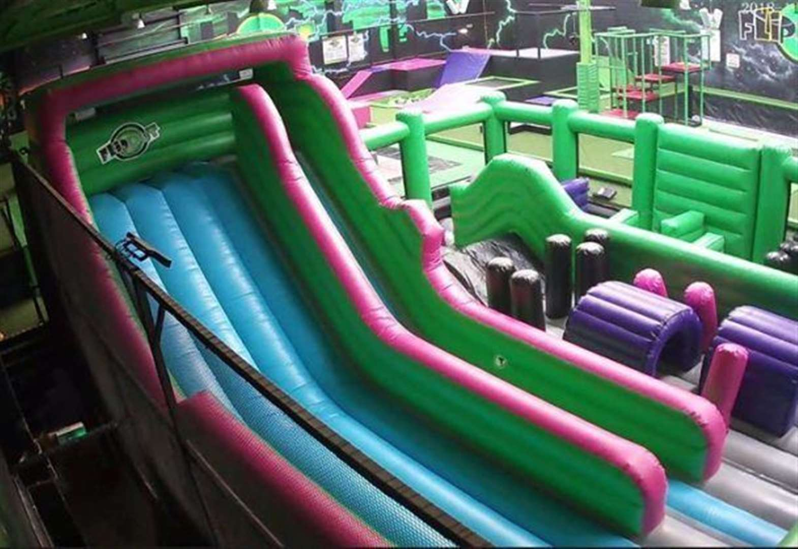 Trampoline park gets makeover