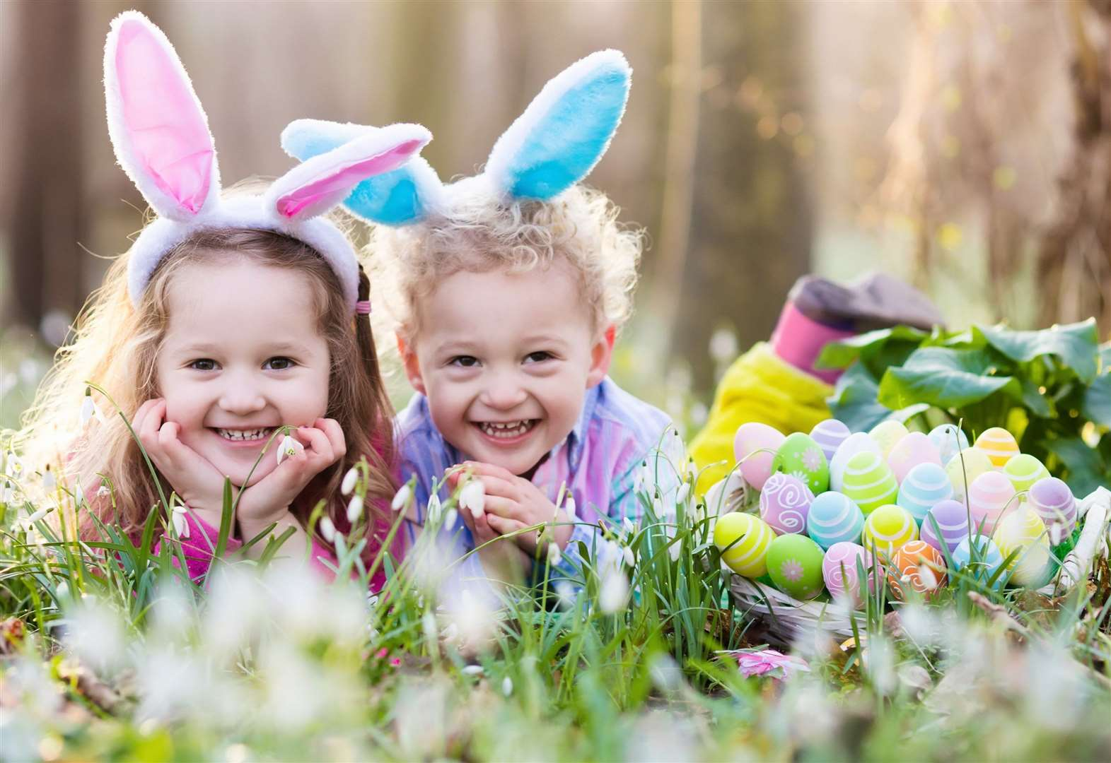 Easter egg hunts in Kent