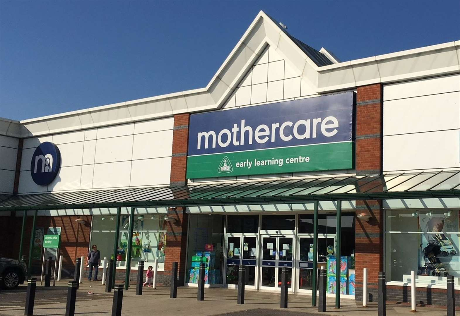 Closing down sales at Mothercare