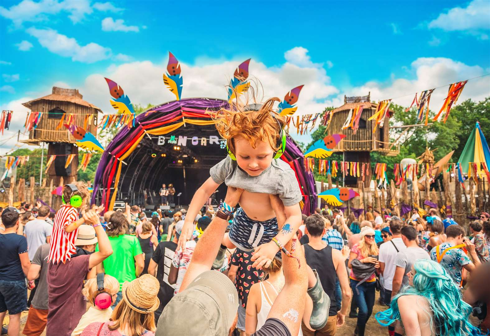 Fancy facing a festival with the family?