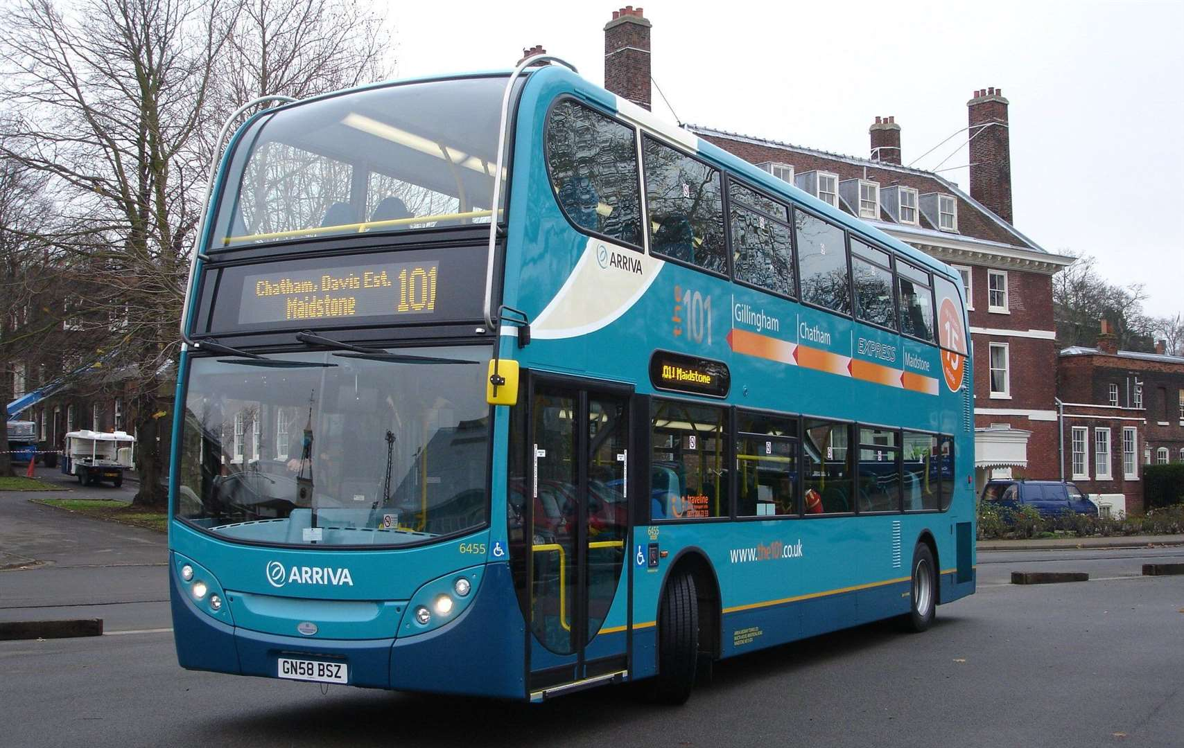Stock image of an Arriva bus
