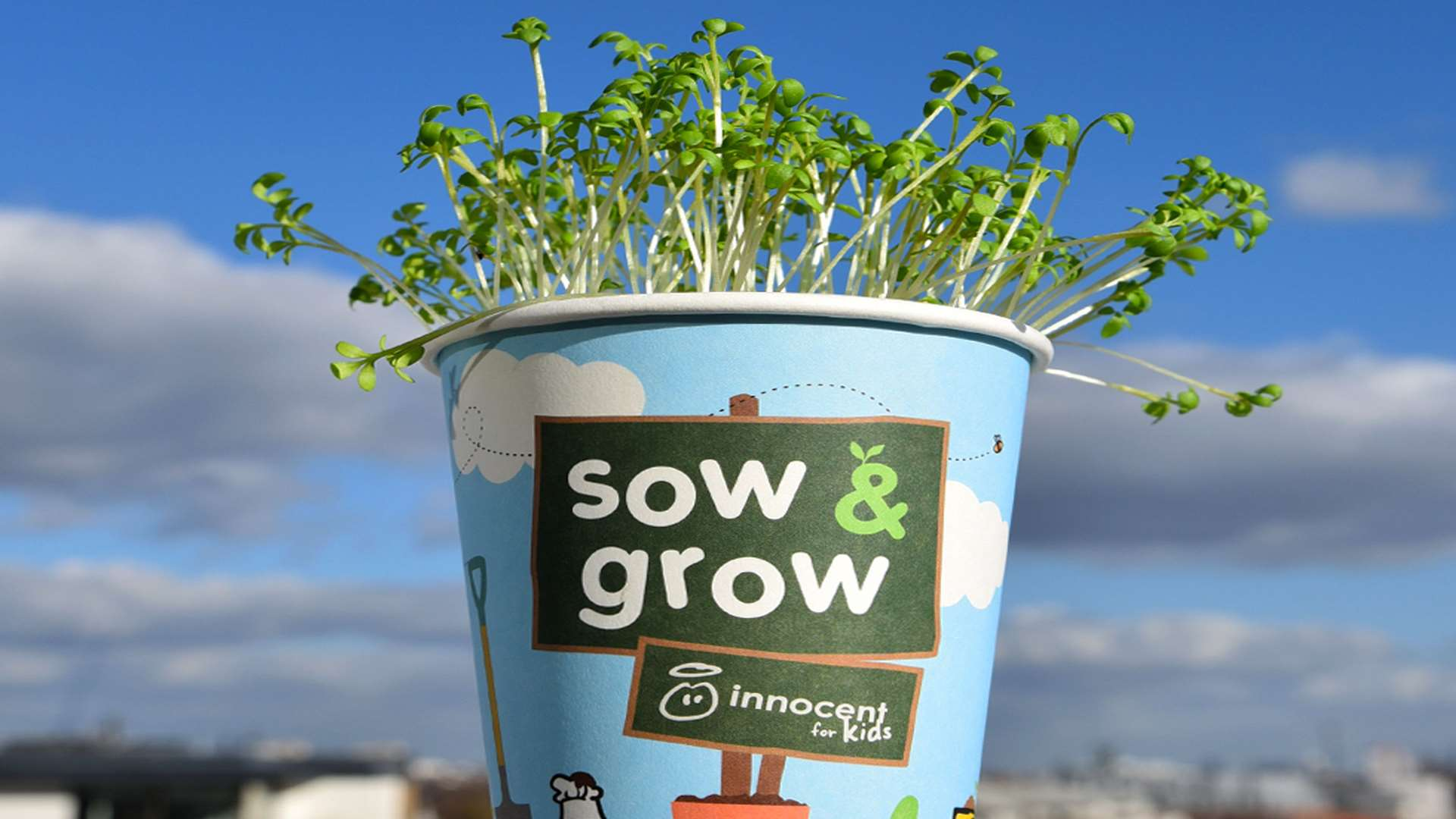 On the up... the Sow and Grow cups