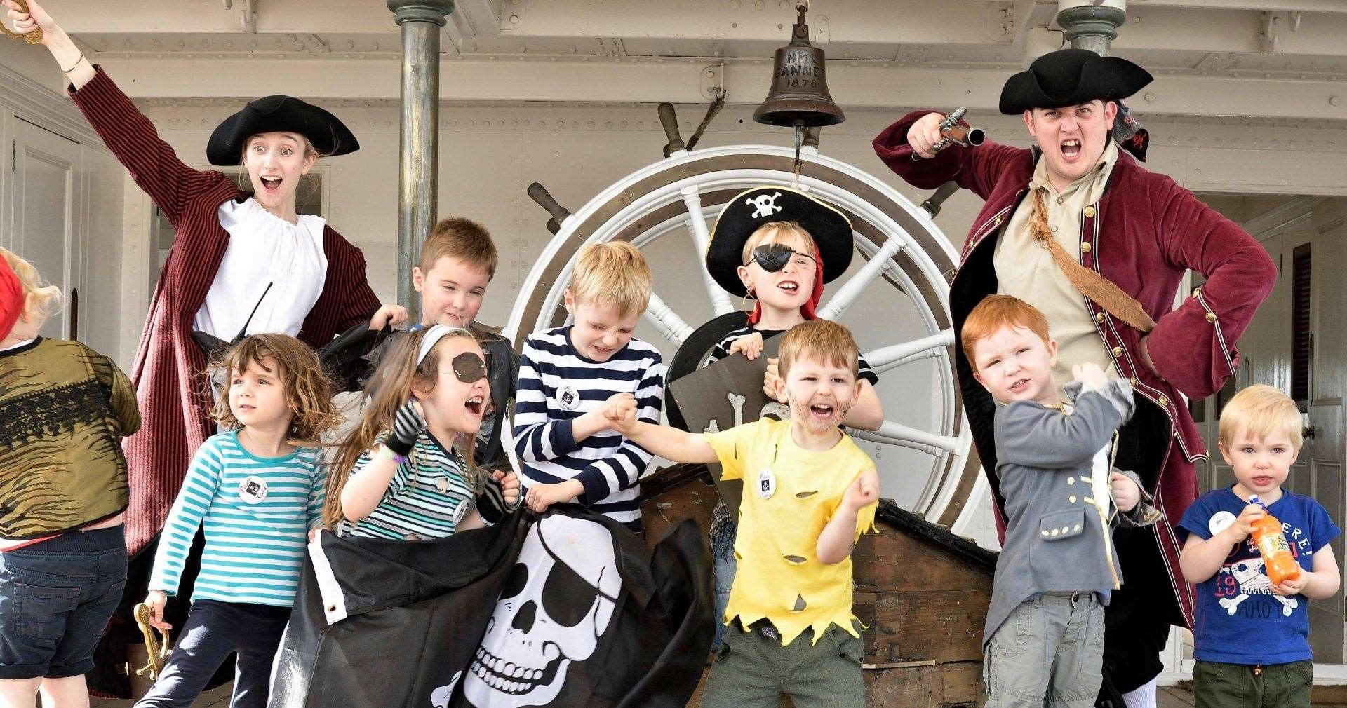 Enjoy a pirate-themed week at The Historic Dockyard