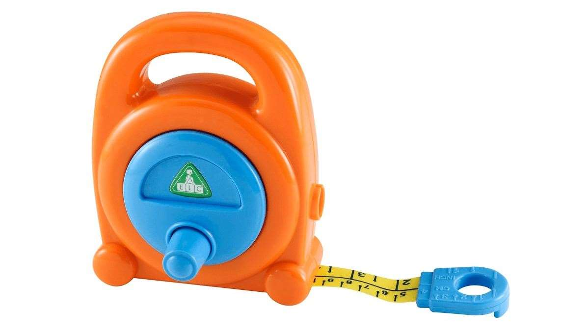 The Early Learning Centre tape measure has changed very little over the years