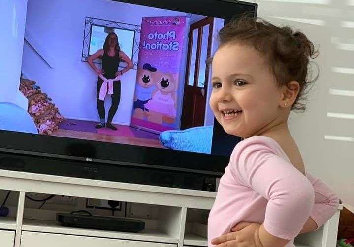 Babyballet is being streamed to tv sets