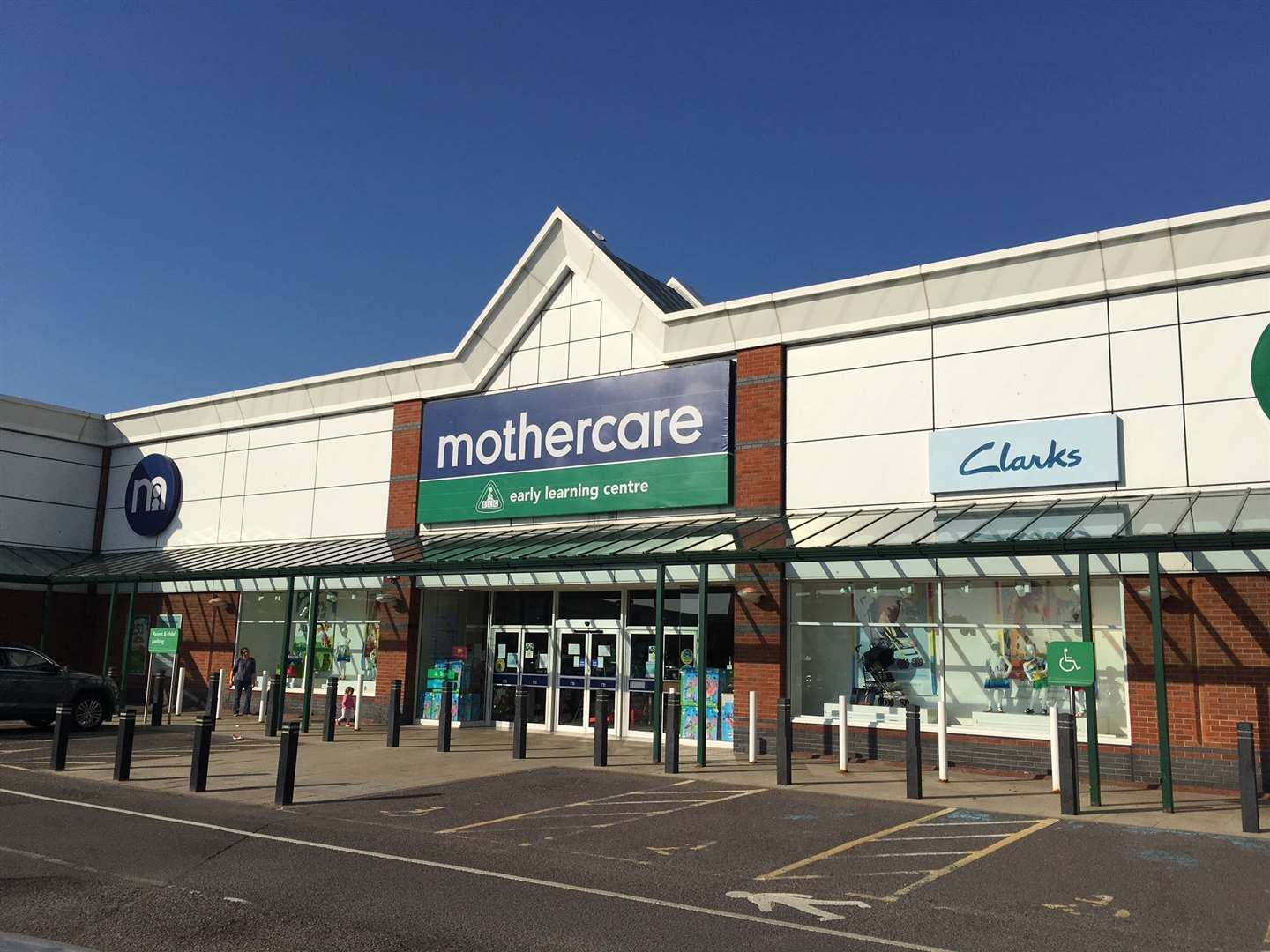 Mothercare in Canterbury is one of those stores holding a closing down sale