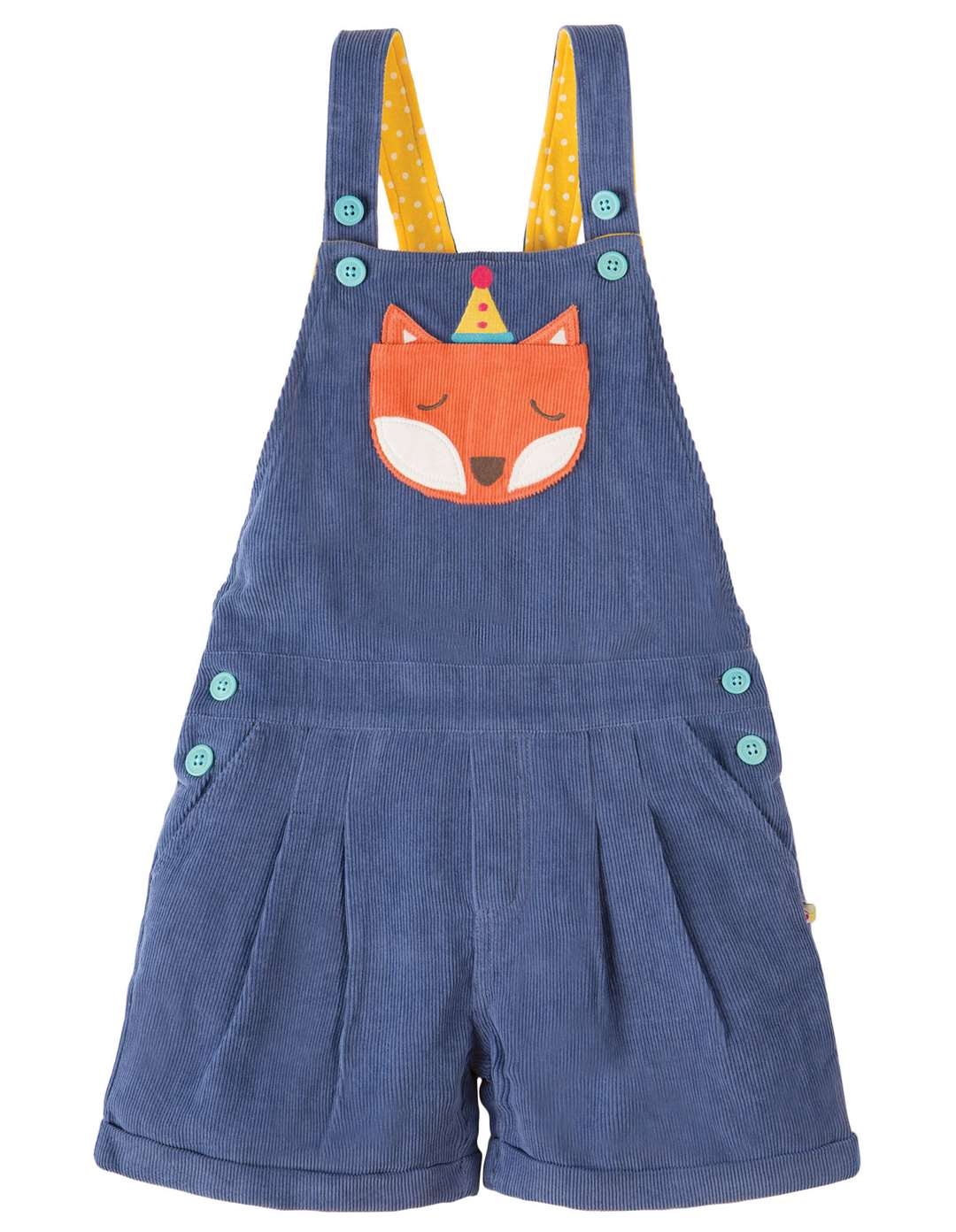 A foxy little number - dungarees from Frugi