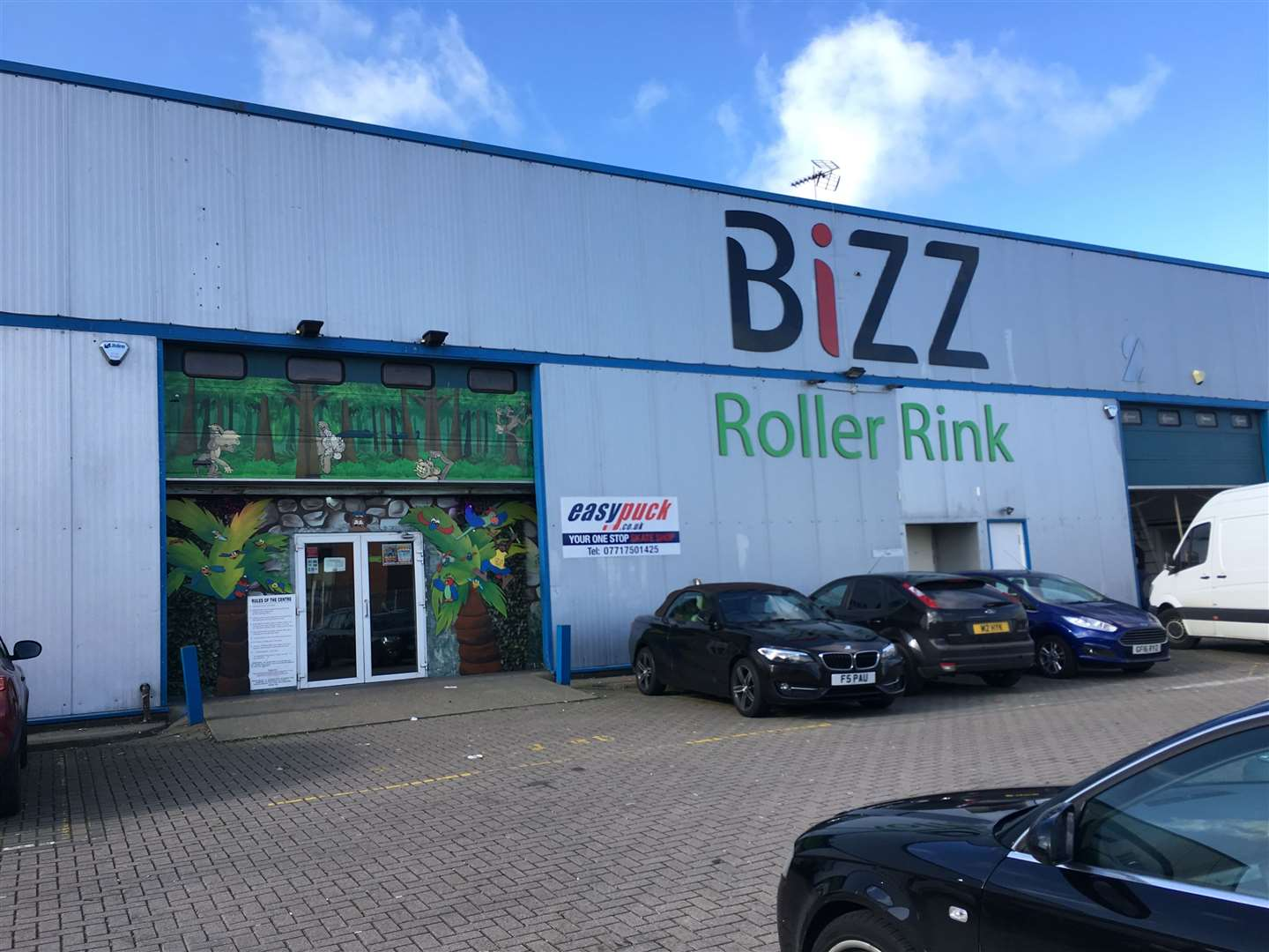 Monkey Bizz has reopened on the Medway City Estate. The Roller Bizz roller disco and gym closed prior to coronavirus in September last year.