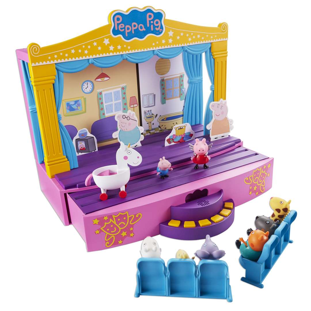 Children's favourite Peppa Pig is a finalist with this Stage Playset