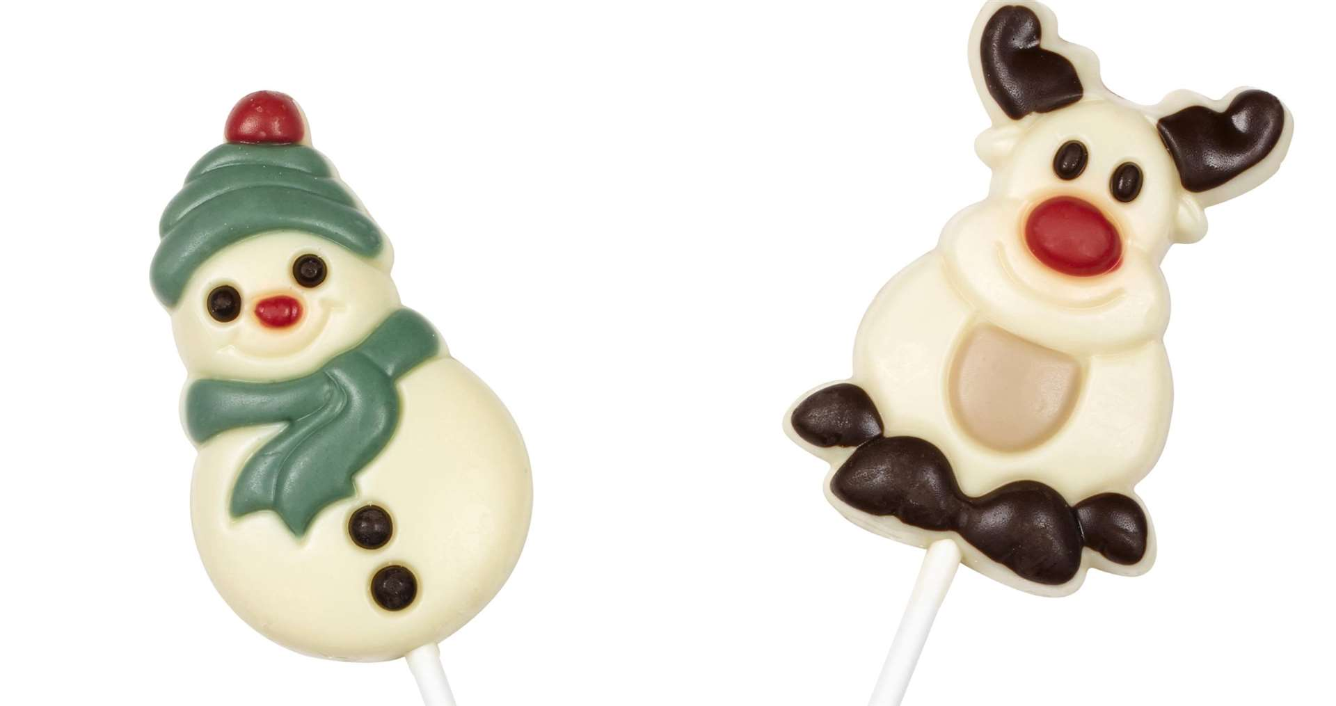 Christmas chocolate lollies, £1.49 from TK Maxx