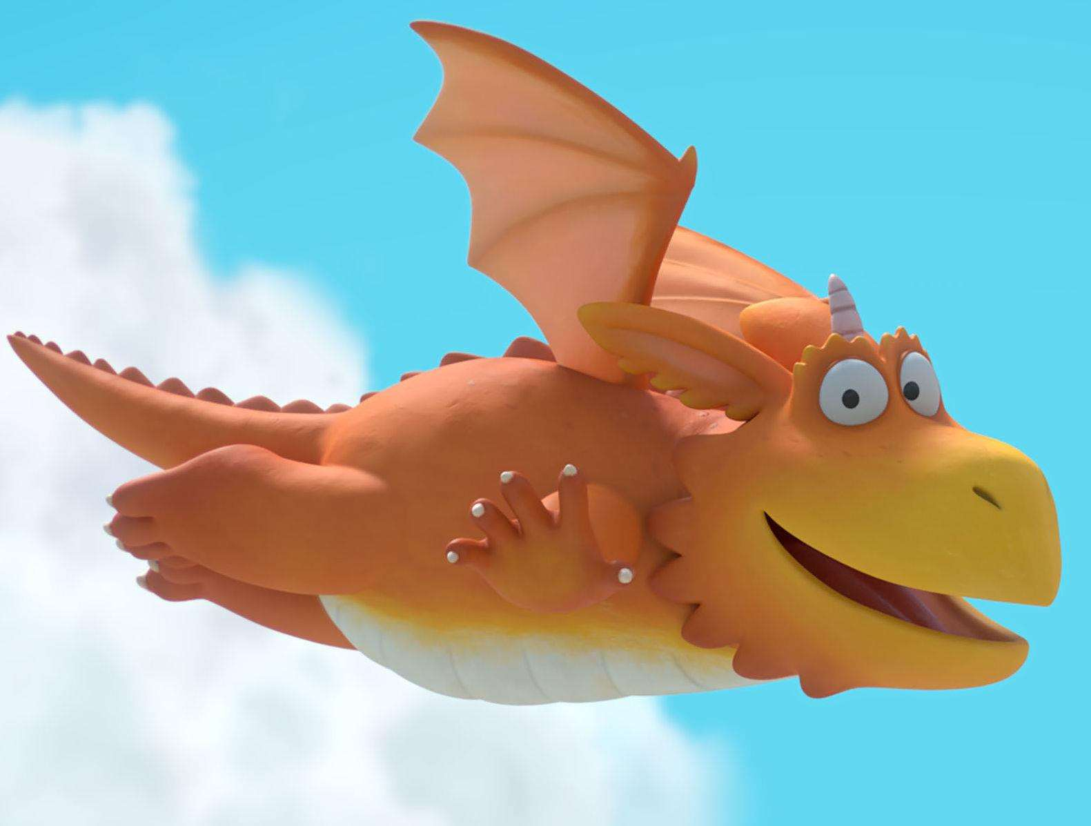 Zog, voiced by Hugh Skinner, will feature in the trail after appearing on BBC1 this Christmas Day. Picture: PA Photo/Magic Light.