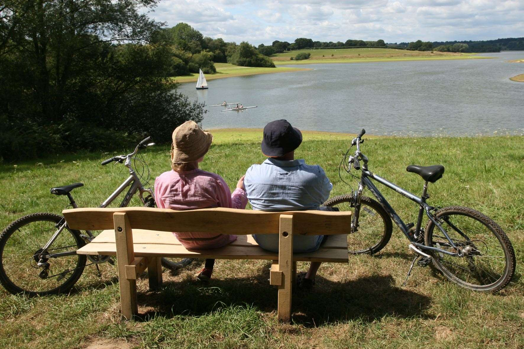 Bewl Water offers walking and cycling routes for visitors