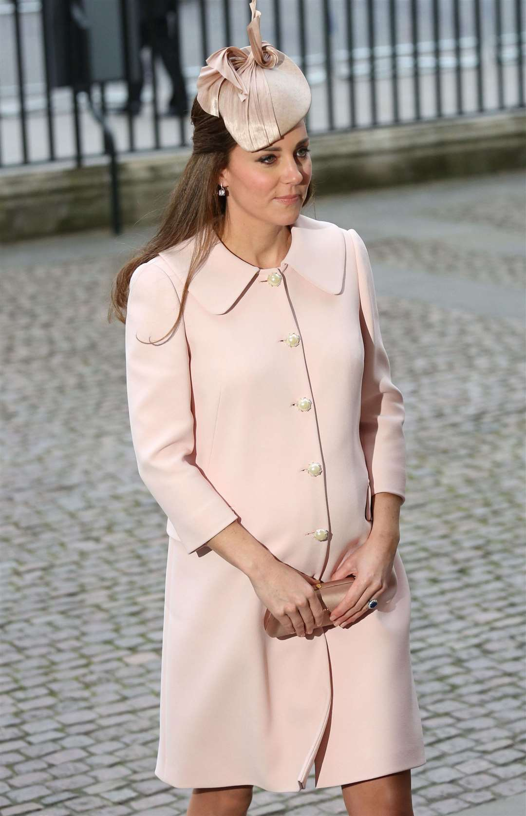 The Duchess of Cambridge has mastered maternity dressing