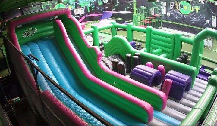 Flip Out in Chatham will be opening a new inflatable zone which will look like this one in their Bristol branch.(19527348)