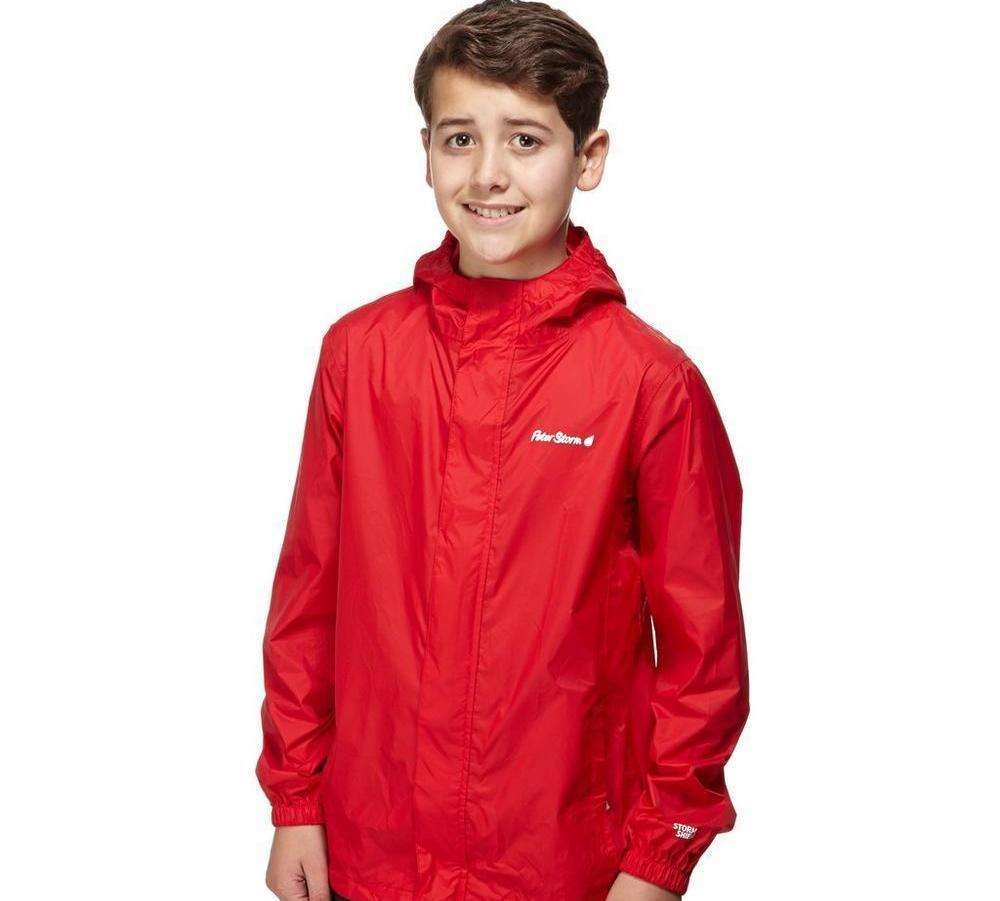 This Peter Storm Boys Packable Waterproof Jacket Kids Coat is on offer for just £8.