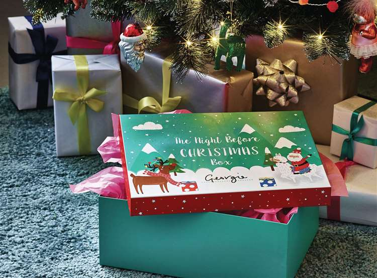 Asdas Christmas Eve Box Leaves Room For You To Personalise With Your Childs Name Or A