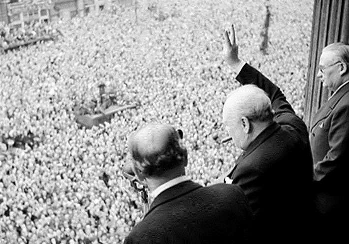 The 75th anniversary of VE Day will be marked on Friday, May 8