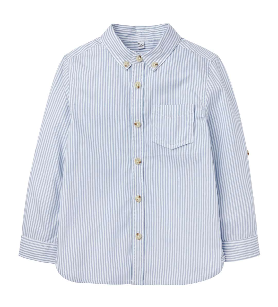 M&S Pure Cotton Striped Oxford Shirt, 3 months - 7 years, from £10