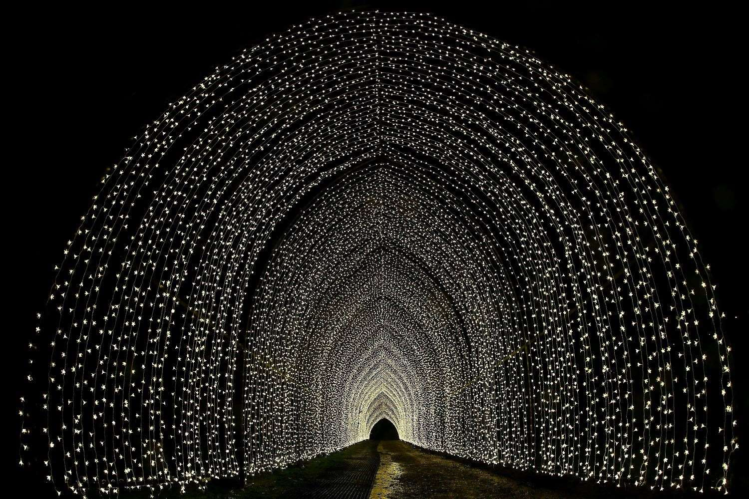 Walk through the spectacular tunnels as part of your visit