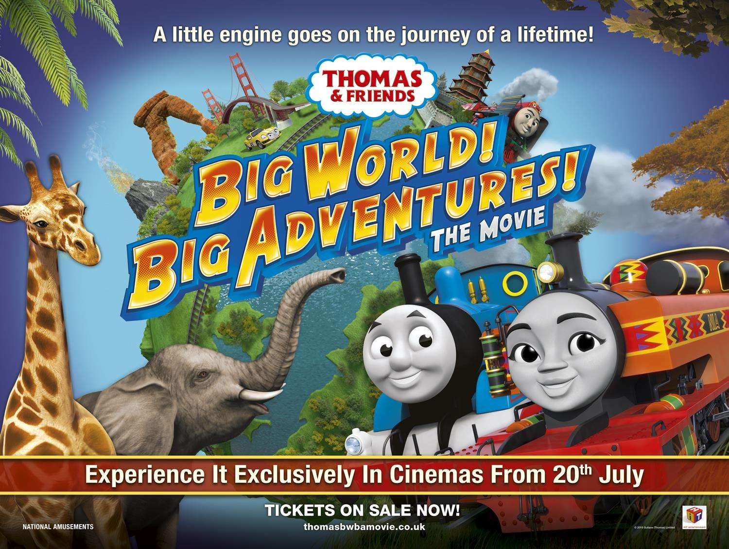 Thomas & Friends. Big World! Big Adventures! Out on July 20.