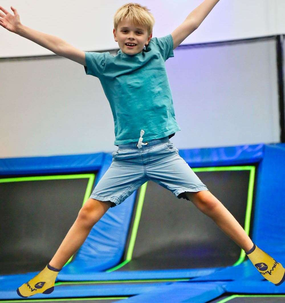 There are trampoline parks across the county