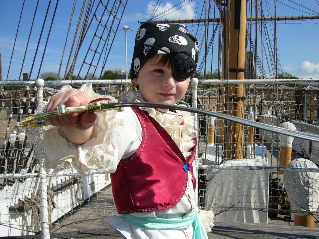 Buy a ticket to The Historic Dockyard and visit all year
