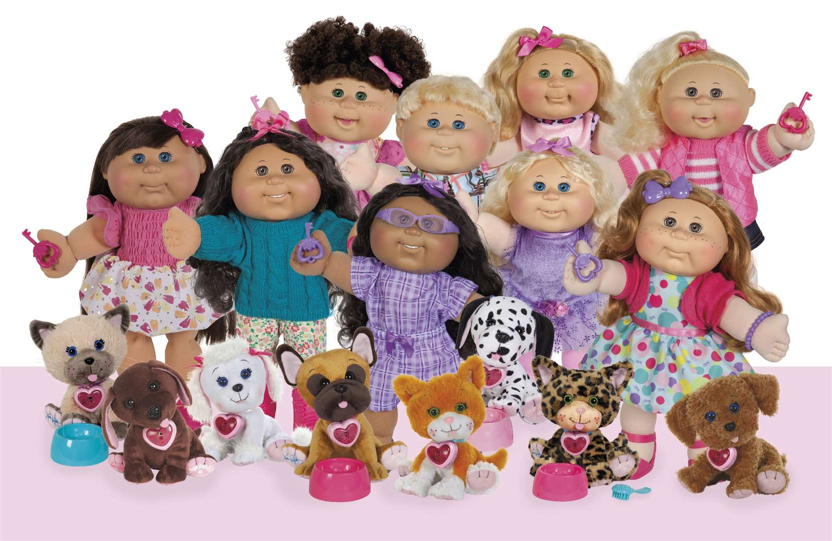 The 2019 collection of Cabbage Patch Kids based on the top toy from the eighties
