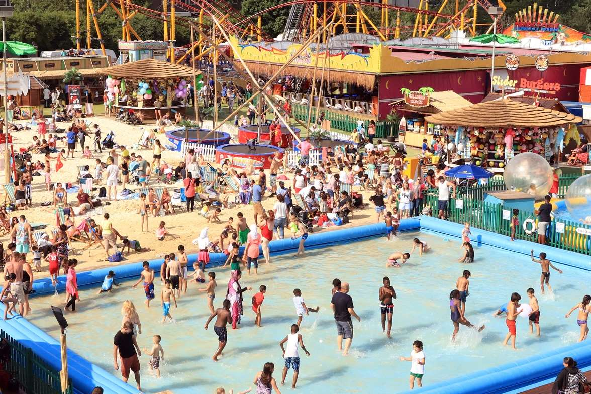 Bluewater Shopping Centre Launches The Beach
