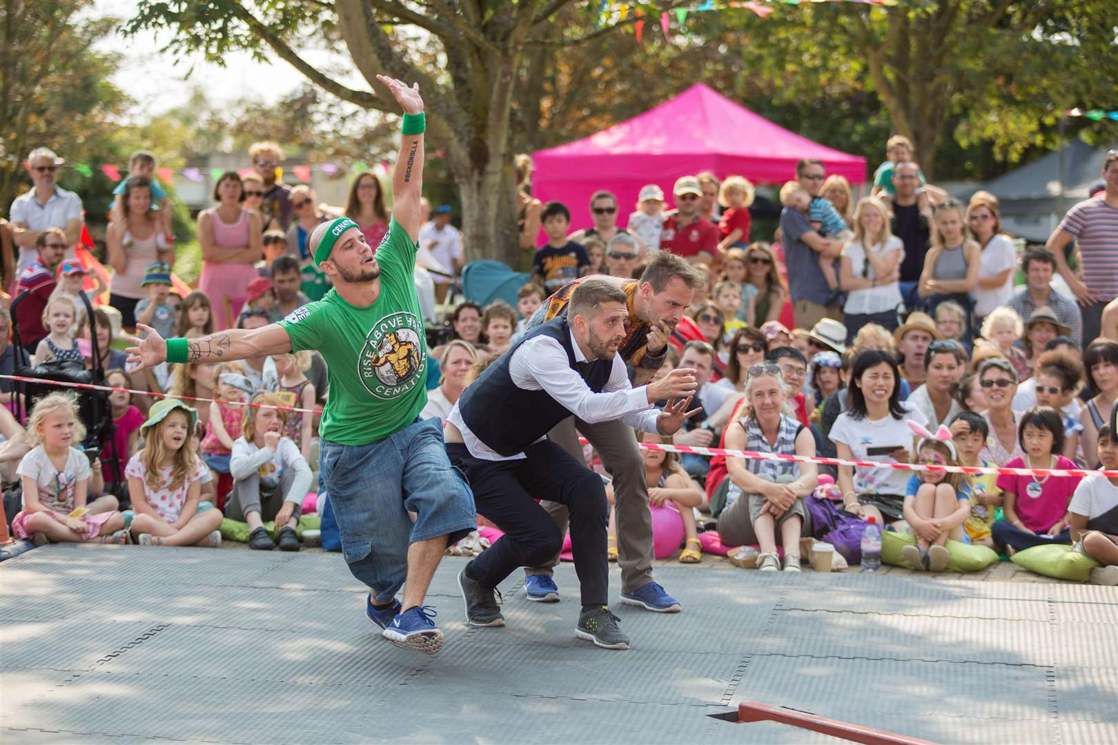 Thousands were entertained by last year's bOing! festival
