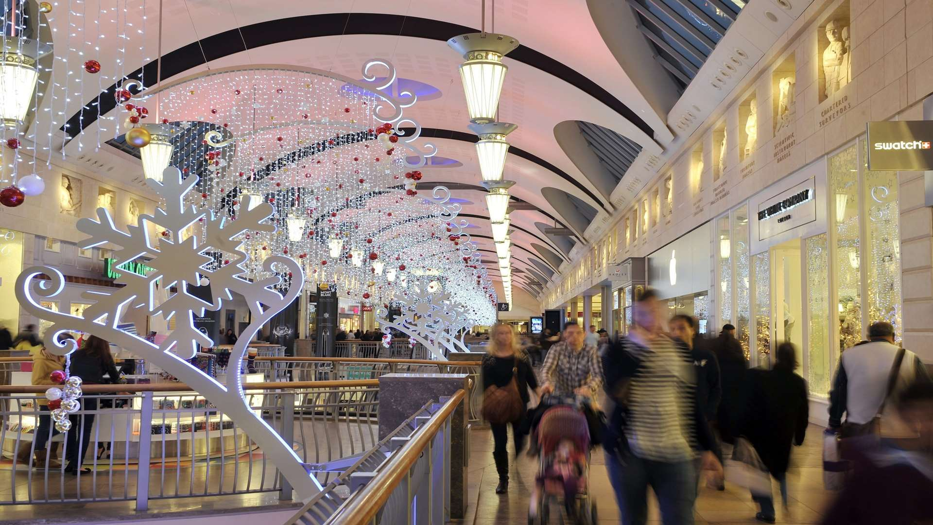 Bluewater Christmas Lights switch-on
