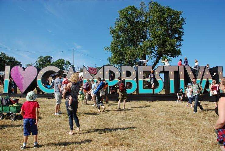 Camp Bestival in Dorset