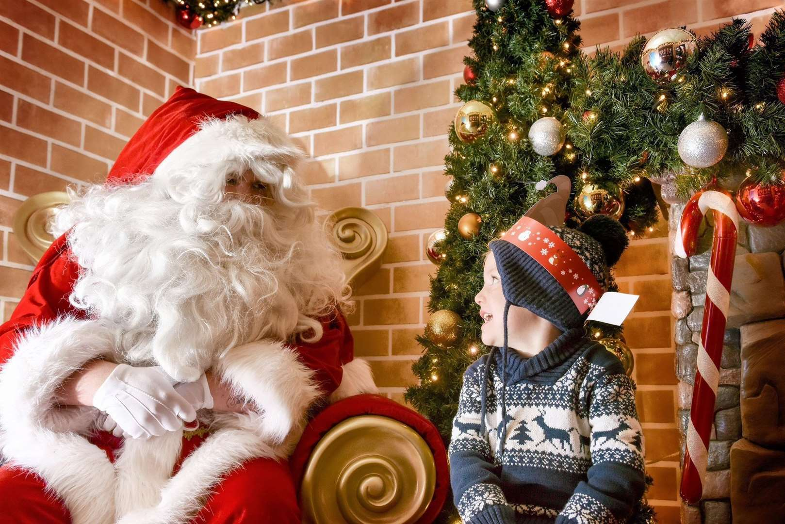 Meet Father Christmas at Bluewater