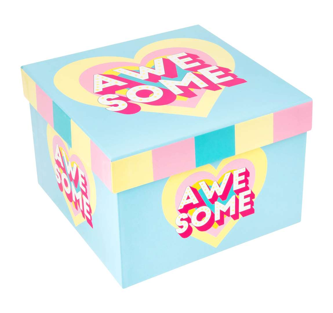 Fill it with sweets, stickers or even a pack of Match Attax cards! This £1 box makes the possibilities endless.